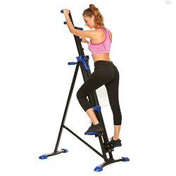 Fashine Vertical Climber 2 In 1 Folding Climbing Exercise Machine Total Body Workout Steper Fitn ...