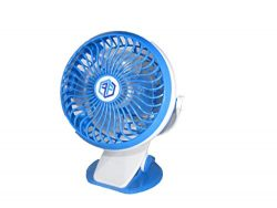 FreeFlo Portable Mini Clip On Fan For Use At Home Office Gym Dorm Room Outdoors Baby Stroller Or ...