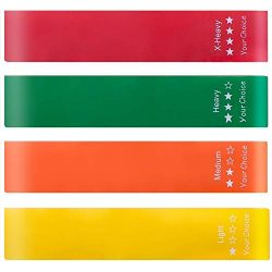 Your Choice Resistance Bands for Legs and Butt Exercise Bands Work Out Bands Stretch Bands, 11.8 ...