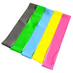 Botrong 2PC Resistance Band Loop Yoga Pilates Home GYM Fitness Exercise Workout Training – ...