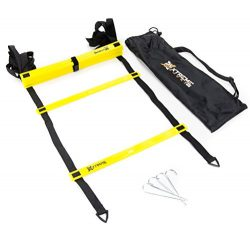 Premium Agility Speed Ladder – 13' Long with 12 Adjustable Rungs, Ideal for Soccer/Footbal ...