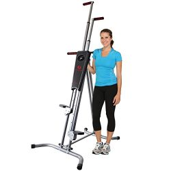 Fitnessclub Vertical Climber Exercise Climbing Machine Home GYM Equipment Stepper Cardio Fitness ...