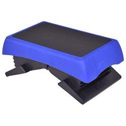 "Giantex 26.5"" Fitness Aerobic Stepper Adjustable 6″-7″-8″-9″-10 ..."