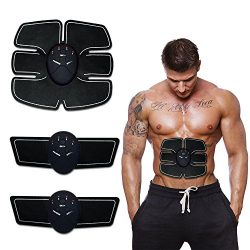 Wireless ABS Muscle Toner Abdominal Muscle Trainers Workout Home Office Fitness Equipment For Ab ...