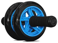 Garren Fitness Maximiza Ab Wheel – This Abs Wheel comes with a Knee Padand Dual Wheel Rol ...