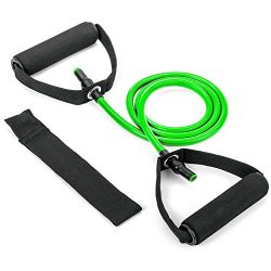 Tribe Single Resistance Band, Fitness Bands Door Anchor, Handles Exercise Guide eBook – Yo ...
