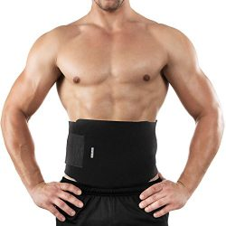 Bracoo Waist Trimmer, Neoprene Sweat Sauna Belt for Men & Women – Caloric Burner, Incr ...