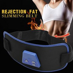 Kaimu Electronic Muscle Arm Leg Waist Tummy Abdominal Massager Slimming Body Buliding Toning Bel ...