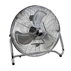 Deco Breeze High Velocity Floor Fan – Industrial Strength Fan – 3 Speeds – for ...