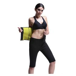 Hot Sweat Belt for Women,Neoprene Slimming Belt, Tummy Control Shapewear, Stomach Fat Burner, Be ...