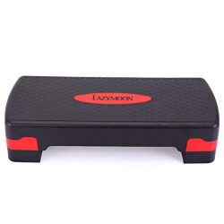 Tobbi Adjustable Aerobic Stepper Fitness Platform