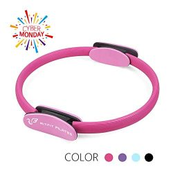 RitFit Pilates Ring – Premium Power Resistance Full Body Toning Fitness Circle – with Carr ...
