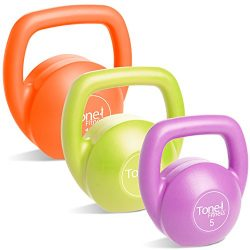 Tone Fitness Kettlebell Body Trainer Set with DVD, 30 lbs.