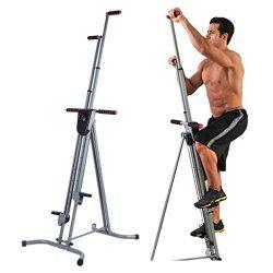 Homgrace Vertical Climber Cardio Exercise, Total Body Workout Climber Machine, Folding Climbing  ...