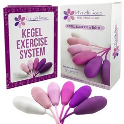 Intimate Rose Kegel Exercise Weights – Doctor Recommended for Bladder Control & Pelvic ...