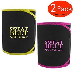 Waist Trimmer, Waist Trimmer Belt for Men & Women, Weight Loss products kit, Stomach Fat Bur ...