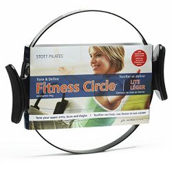 STOTT PILATES(MERRITHEW) Fitness Circle Lite (Black), 14 inch / 35.5 cm (Packaging may Vary)