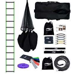 Victorem Ultimate Speed Agility Training Set – Speed Bands, Parachute, Overspeed Bungee, Running ...