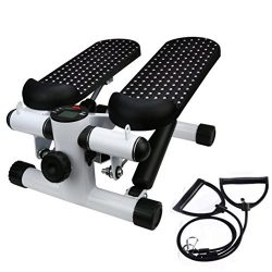 Household Hydraulic Mute Stepper, Aimik Step Air Climber Stepper Twister Aerobic Fitness Exercis ...