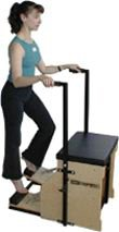 MERRITHEW Split-Pedal Stability Chair with Handles