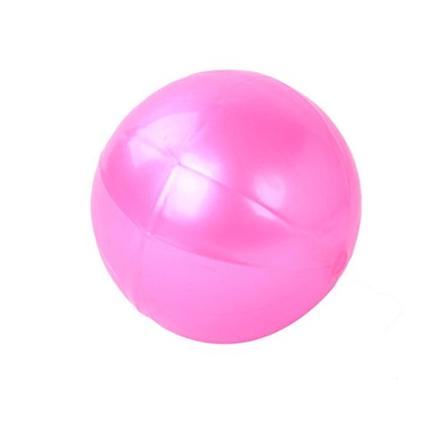 Yoga Exercise Ball Gym Pilates Balance Exercising Fitness Sports Product (Pink)