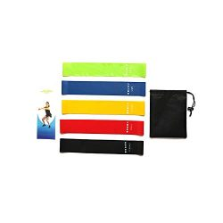 Haisea Resistance Bands- Latex Exercise Bands Resistance-Mini、Legs、arms、Hip、Yoga Resistance  ...