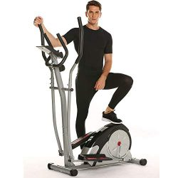 Aceshin Elliptical Machine Trainer Compact Life Fitness Exercise Equipment for Home Use Workout  ...