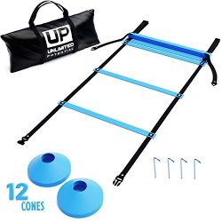 Soccer Ladders – Speed Ladder – Exercise Ladder – Training Agility Equipment a ...