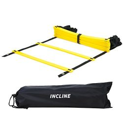 Incline Fit Training Agility Ladder with Carry Bag