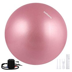 Galsports Exercise Ball, Yoga Ball (Dusty Rose, M (48-55cm))