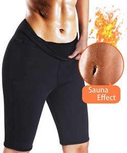 TAILONG Womens Slimming Pants Hot Thermo Neoprene Sweat Sauna Body Shapers Weight Loss Leggings  ...