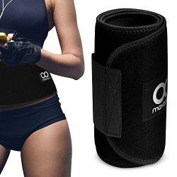 Maxboost Waist Trimmer, Premium Weight Loss Ab Belt for Men & Women [Black, Classic Medium]  ...