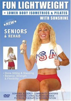 Senior Easy Light Weights Exercise DVD: Seniors / Elderly Easy Dumbbells Sitting and Standing Ex ...