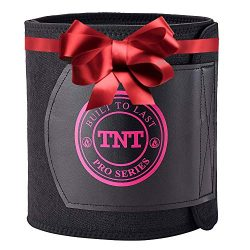 TNT Pro Series Waist Trimmer Weight Loss Ab Belt – Premium Stomach Fat Burner Wrap and Wai ...