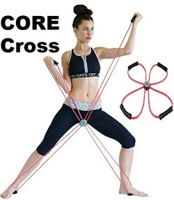 Sisyama Core Cross Workout Pilates Reformer Exercise Resistance Cords Loop Tube Bands