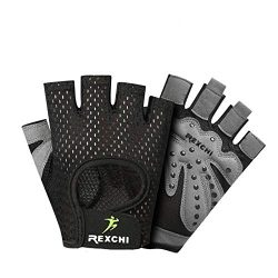 Gtopart Ventilated Weight Lifting Gloves, Full Palm Protection & Extra Grip. Great for Pull  ...