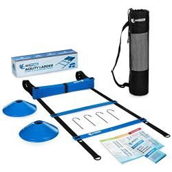 Agility Ladder | Speed Ladder for Football, Soccer Training & HIIT Workouts | Exercise Ladde ...