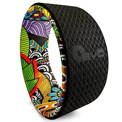 Yoga EVO 13'' Yoga Wheel – Strong & Comfortable Dharma Yoga Prop for Inversions & Backbe ...