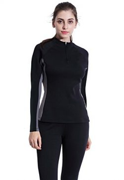 Valentina Womens Hot Thermo Body Shaper, Slimming Long Sleeve Shirt, Workout Sweat Sauna Suit, A ...