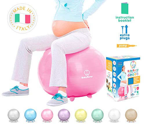The Original Birth Ball – Pink – Yoga – Exercise – Birthing – Mate ...