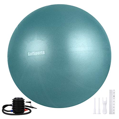 Galsports Exercise Ball, Yoga Ball (Charcoal Blue, M (48-55cm))