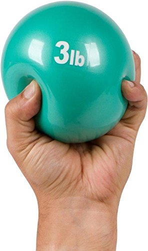 Trademark Innovations Weighted Exercise Toning Ball – Set of 2 – by (3Lbs.)