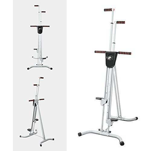 Total Gym Step Climber Ab Vertical Climber Exercise Machine, Folding Exercise Climbing Machine f ...