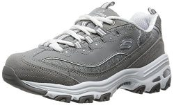 Skechers Sport Women's D'Lites – Me Time –  Memory Foam Lace-up Sneaker, ...