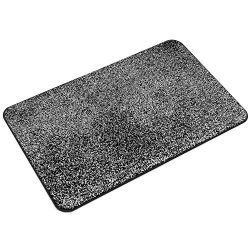 LEWOTE Indoor Doormat 18″ x 29,5″, Super Absorbs Mud Non Slip Dirt Trapper Door Mat  ...