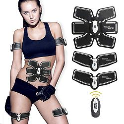 UMATE Abdominal Muscle, ABS Trainer Body Toning Fitness Toning Belt ABS Fit Weight Muscle Toner  ...