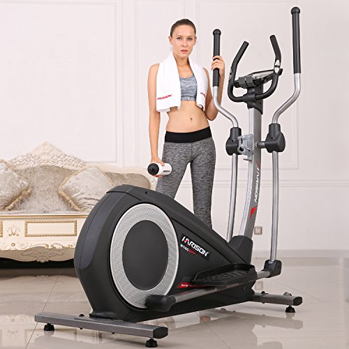 HARISON Elliptical Machine Bike with 32 Levels Resistance for Home Use