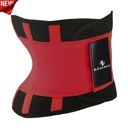 BiEnergo Waist Trainer for Women and Men Weight Loss Waist Cincher Trimmer Slimming Belt Sport G ...
