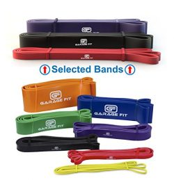 Garage Fit Resistance Bands for Pull Ups, Weightlifting Resistance Bands, Chin Up Bands, Calisth ...