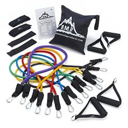 Black Mountain Products – Ultimate Resistance Band Set with Starter Guide